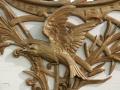 Swan Bandwagon No. 87 - Carving Detail