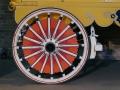 Sunburst Circus Wagon Wheel