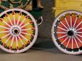Sunburst Circus Wagon Wheels