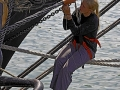 Brig Niagara (Erie, PA) - Working on the Rigging