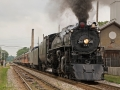 Milwaukee Road Steam Locomotive #261 - Columbus,  Wisconsin