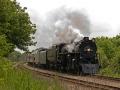 Milwaukee Road Steam Locomotive  #261 - Atsico, Wisconsin