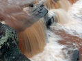 Bonanza (Greenwood) Falls - Big Iron River, Ontonagon County, Michigan
