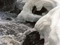 Bond Falls Spring Melt - Ontonagon County, Michigan