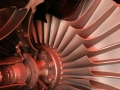 Cutaway Jet Engine