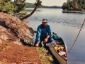 Arriving at my first portage