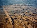 Chippewa Harbor Dock Ruins