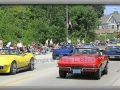 Corvettes on Parade