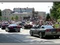 Corvettes on Parade – Heading Downtown